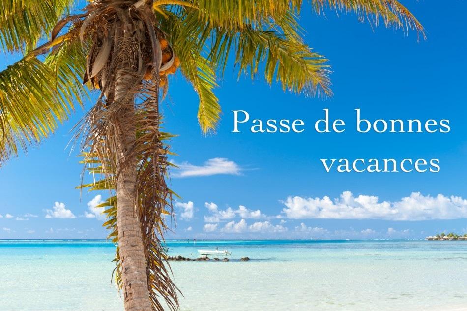 Passe de Bonnes vacances